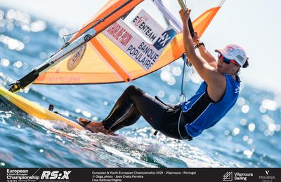 Voile olympique – Charline Picon championne d'Europe de RS:X