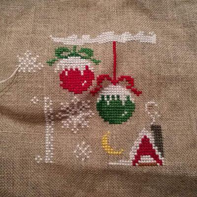 Sal Merry Christmas de <Les petites croix de Lucie >