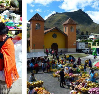 Du marché de Zumbahua à la lagune de Quilotoa