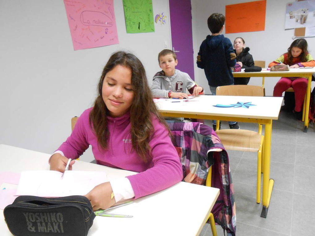 Les élèves de CM1 et CM2 de l'école Sainte Anne découvrent le collège !