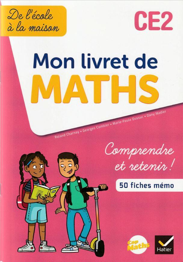 Livre scolaire Mon livret de Maths CE2aux éditions Hatier