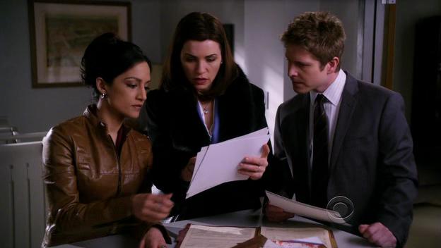 Critiques Séries : The Good Wife. Saison 2. Episode 18.
