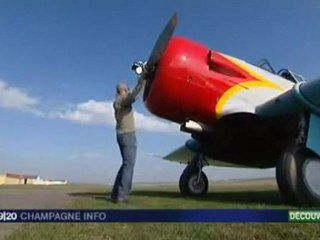 North American T6 : Reportage France3...