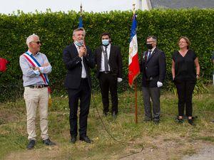 12 août 2020 - Didier Le Gac, député du Finistère