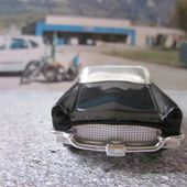 1957 FORD THUNDERBIRD CONVERTIBLE MATCHBOX 1/63 - car-collector.net