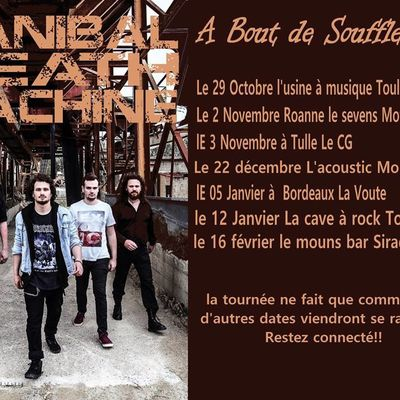 Sortie du nouvel EP de HANIBAL DEATH MACHINE