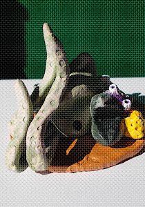 Santon : le calamar de Cerbère ...
