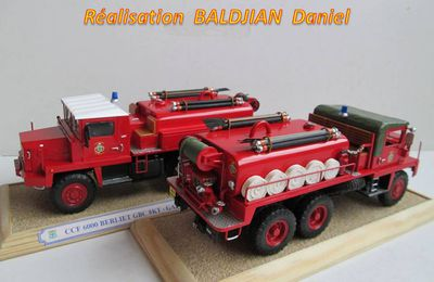 ​  Berliet GBC 8 KT CCF 6000  (Base collection-presse - 1:43 - par Daniel Baldjian) ​