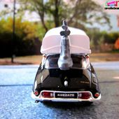 CITROEN DS 20 PALLAS 1973 RABBI JACOB LOUIS DE FUNES BATEAU GERMAINE 2 ELIGOR 1/43 DS CONFORT. - car-collector.net
