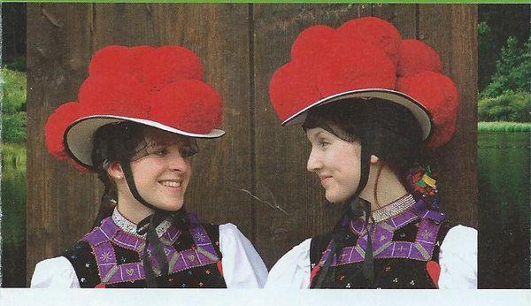 chapeaux typiques Forêt-Noire