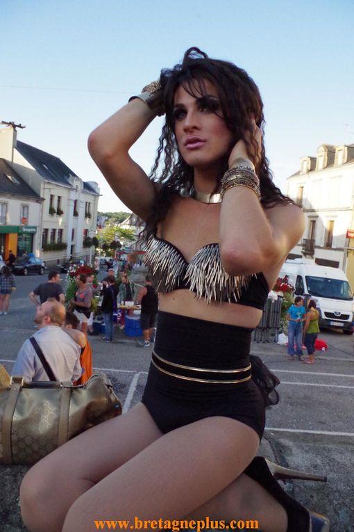 Pour la 6ème édition, ce samedi 3 aout, se déroulait dans les rues de GOURIN,  la FESTI GAY