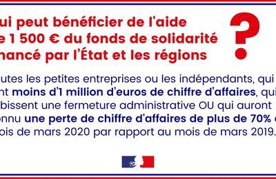 Covid-19 - Les mesures en vigueur en France - épisode 3 - Quelles aides pour les entreprises et les salariés ?