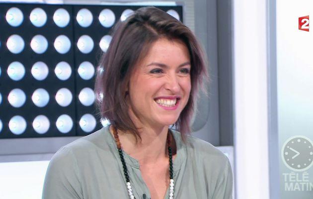 📸5 JULIE FERREZ @JULIEFERREZ ce matin @telematin @France2tv #vuesalatele