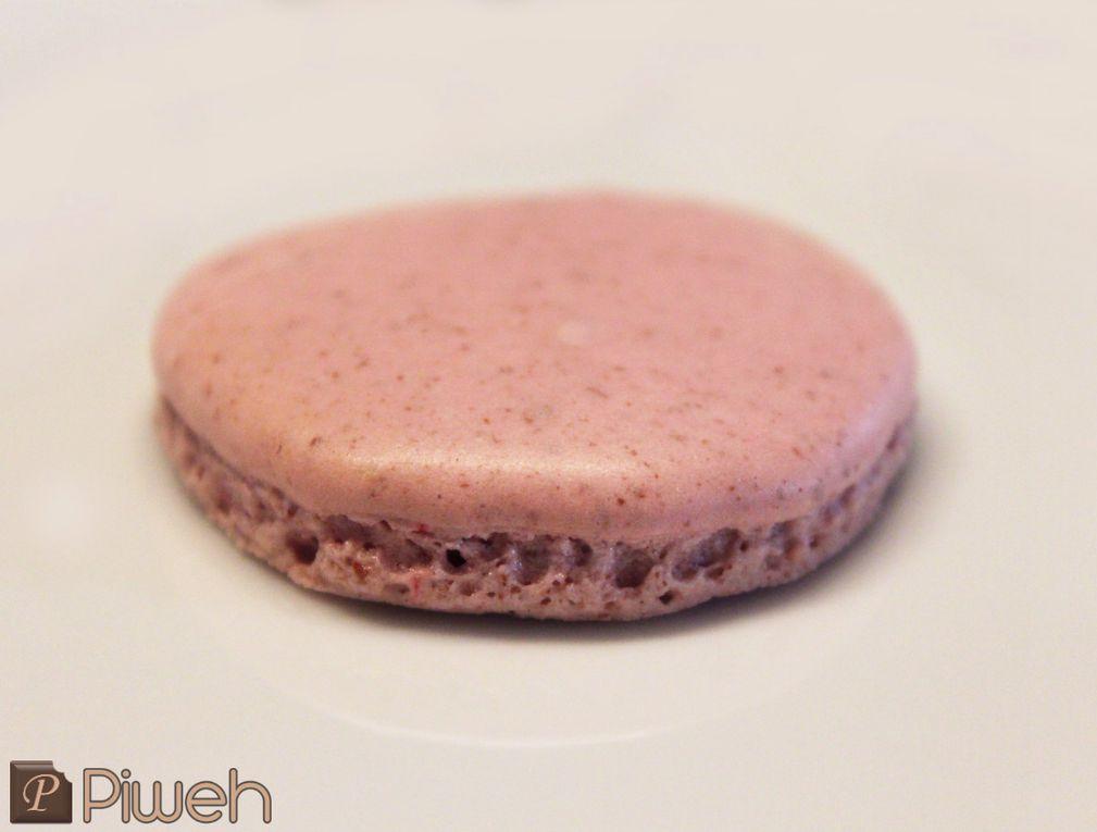 Macarons Chocolat blanc-Framboises
