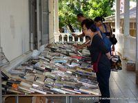 Vente de livres déclassés (venez avec vos sacs et cabas réutilisables). Plus de 11 000 ouvrages déclassés seront à vendre, une première dans l'histoire de Bernheim !
