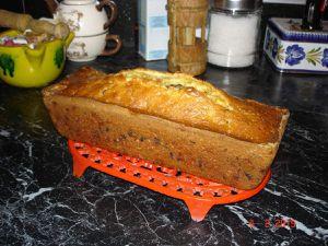 Cake pralin-pépites de chocolat