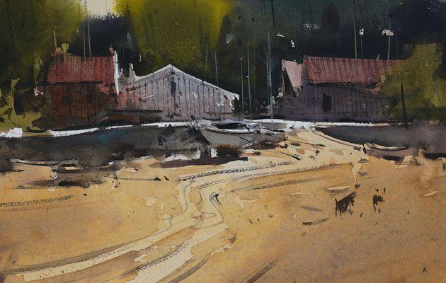 Stage d'aquarelle proposé par Eugen Chisnicean les 12 et 13/09/2020 festival Landes aquarelle Morcenx 40110