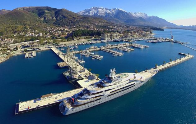 Porto Montenegro nominated for TYHA Superyacht Marina Of The Year Award 2017