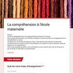 Mise en ligne d'un questionnaire pour l'admission au cafipemf de Béatrix