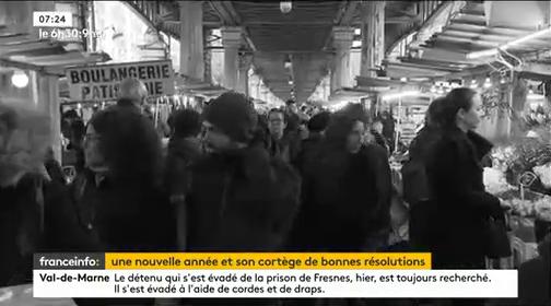 Quelles bonnes résolutions pour les français ? Vous allez voir que malgré les générations, les mêmes choses reviennent sans cesse !