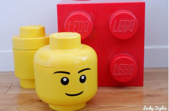 Boîtes de rangement Lego
