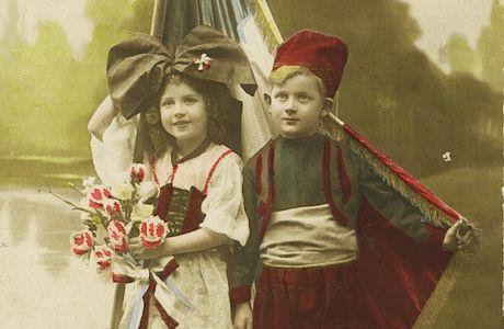 Petit partage d'images : pendant la première guerre mondiale...