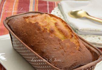 Cake madeleine