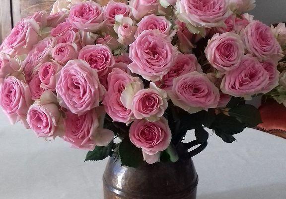 Le bouquet anonyme...