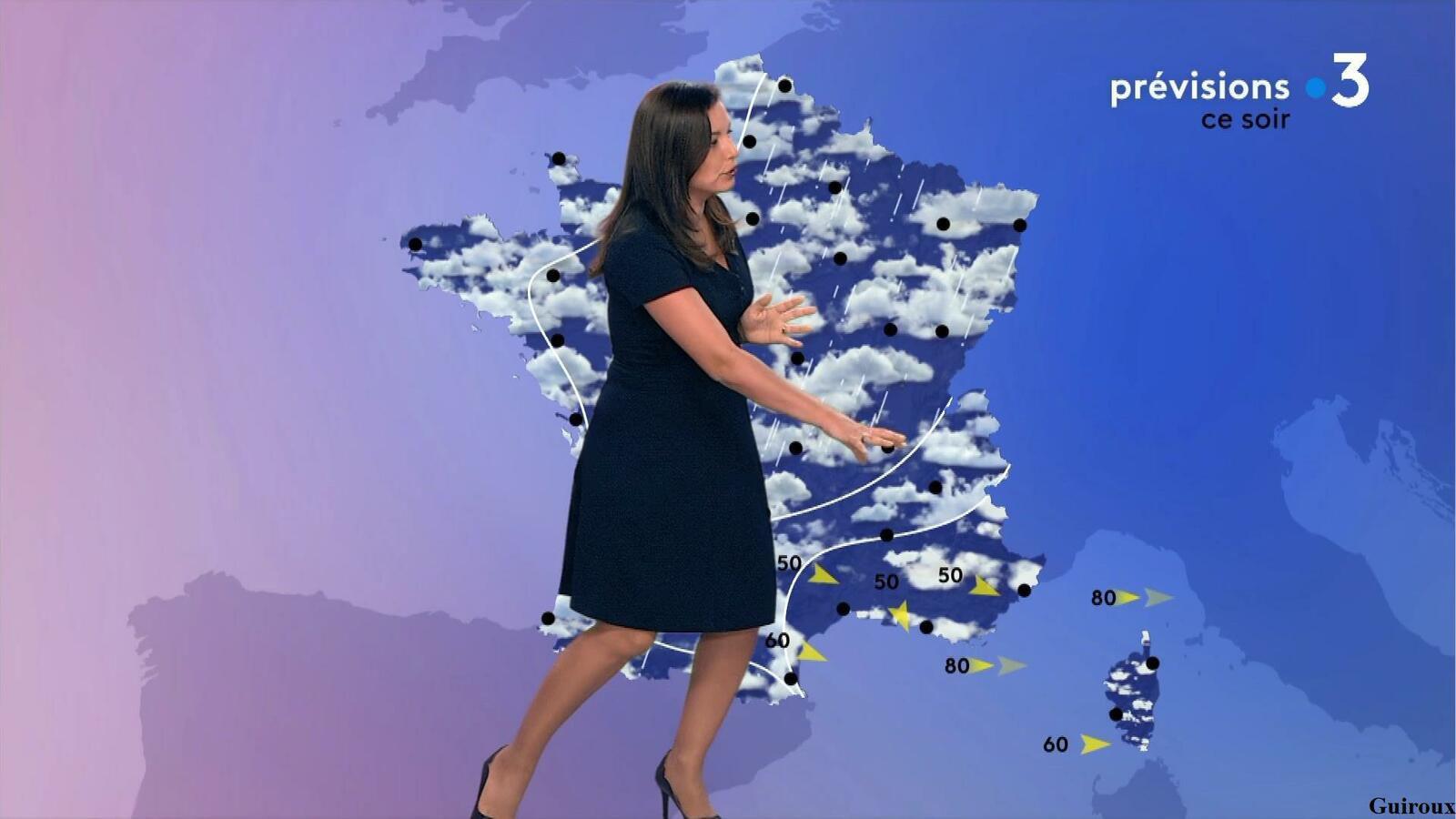 Anaïs Baydemir 01/08/2021 Journal météo de la fin de matinée + JT 12/13