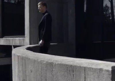 PRADA - FALL WINTER 2014 AD CAMPAIGN & VIDEO / PLAYING WITH BRUTALIST ARCHITECTURE