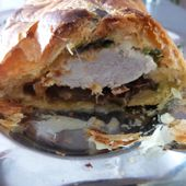 Filet Mignon en Croute aux Girolles -