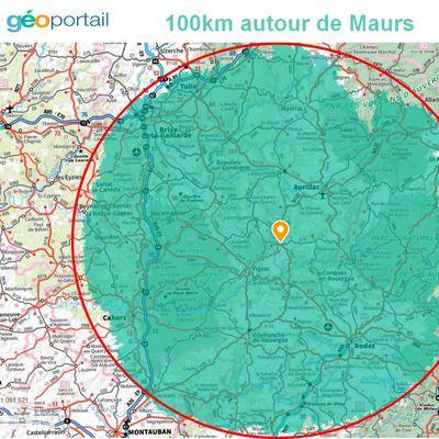 100 kilomètres maximum : comment calculer votre zone de déplacement ?