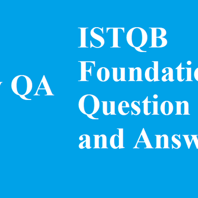 ISTQB Foundation Question and Answer No.2
