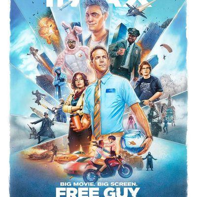 Free Guy (IMAX Laser 3D) de Shawn Levy avec Ryan Reynolds, Jodie Comer, Joe Keery, Lil Rel Howery, Utkarsh Ambudkar, Taika Waititi, Matty Cardarople et Channing Tatum.