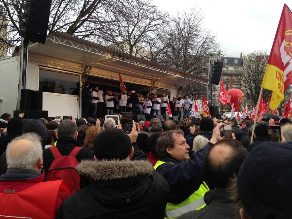 """Mobilisation pour les """"8 condamnés de Goodyear"""" et la """"liberté syndicale"""""""