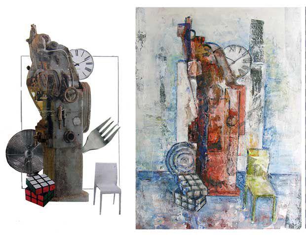 Collage 80.1 et son interprétation