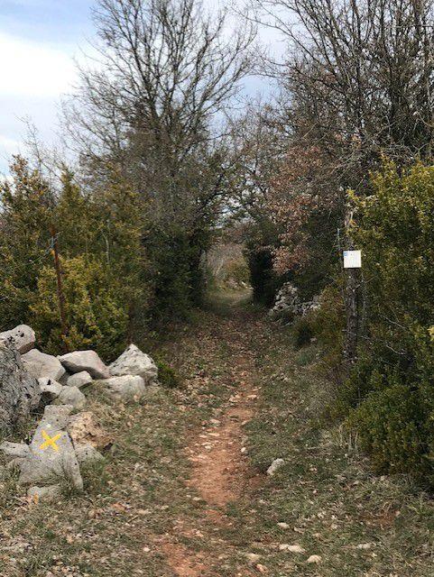 """Quelques photos de la Randonnée du Dimanche 21 mars 2021 """"LA COUVERTOIRADE"""" Animateur José et Photos Catherine"""
