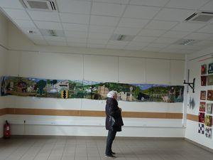 l'expo de l'atelier la courtepointe de Réalmont (81)