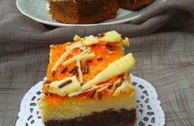 cheesecake base brownie