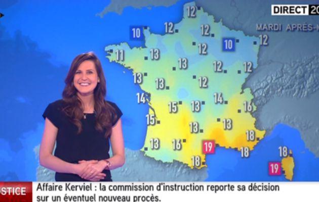 DANIELA PREPELIUC pour LA MÉTÉO d'i>tele le 2016 03 21