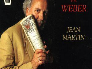 jean martin, un pianiste français décédé depuis le 7 octobre 2020, il était un spécialiste du répertoire romantique
