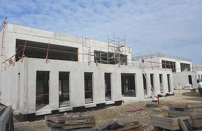 Les nouveaux ateliers en cours de construction : point d'étape