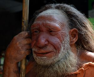 NEANDERTHAL BEING