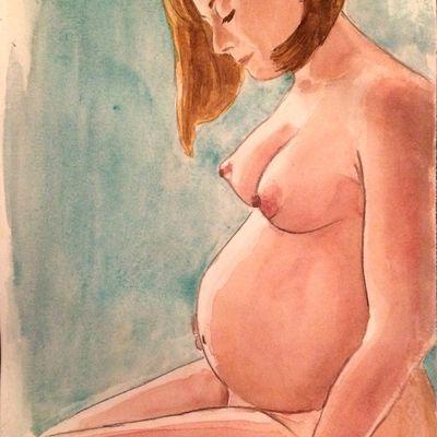femme enceinte octobre 2018