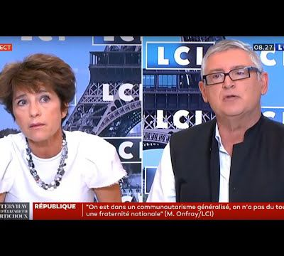 Michel Onfray - L'interview politique (LCI) - 04.09.2020
