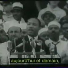 "Il y a 50 ans : ""I have a dream"""