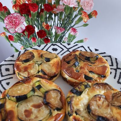 Flan courgettes ~ St môret
