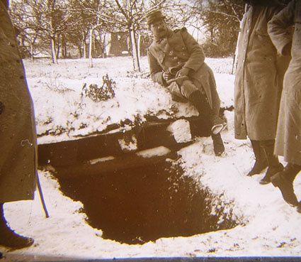 photographies de la guerre de 14 ,à partir de plaques de verre stéréo
