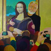 Actualisation et réinterprétation des chefs d'oeuvre de la peinture (7 tableaux très connus) - Le blog de Bernard Moutin