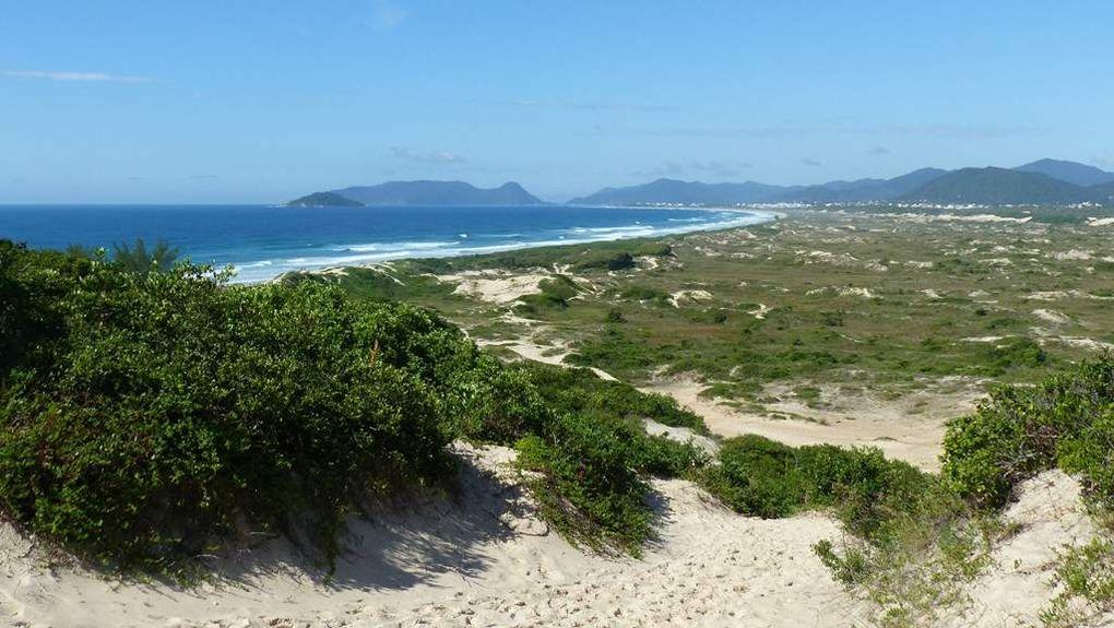 Les plages brésiliennes